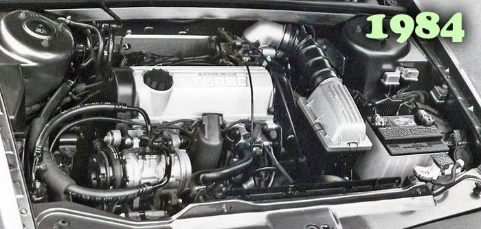 2.2 turbo in 1984 Chrysler Laser