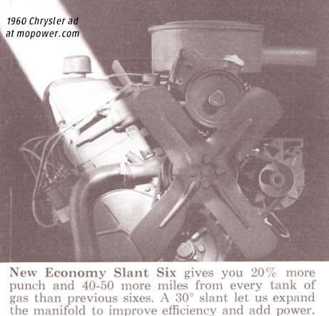 1960 Slant Six