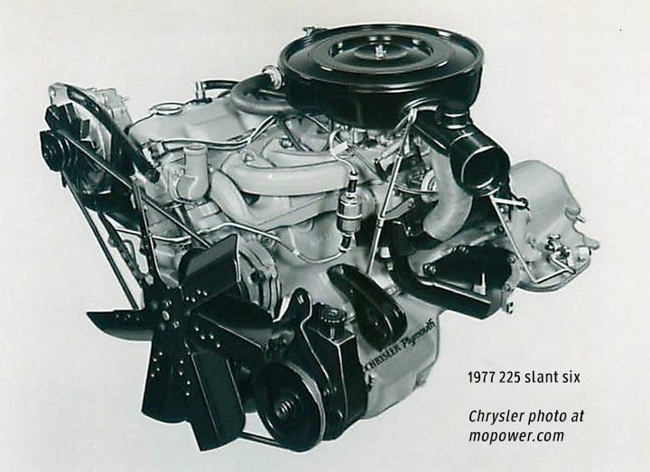 1977 Slant Six