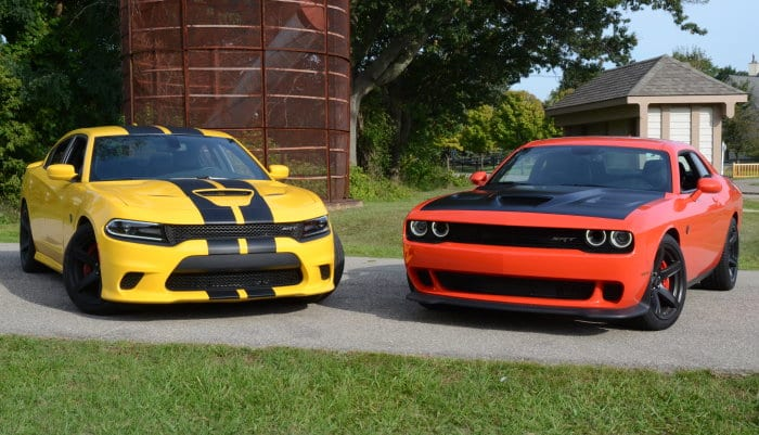 Dodge Challenger and Charger Hellcat