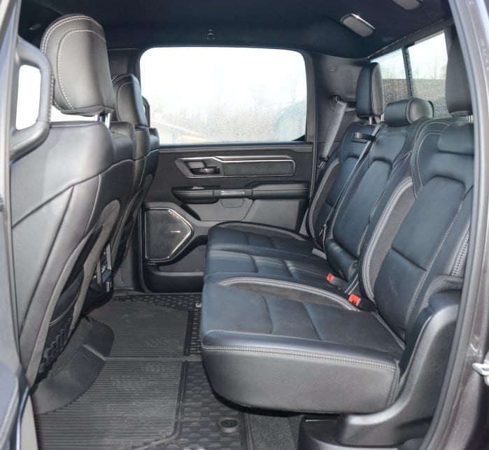 Ram 1500 Rear Seats