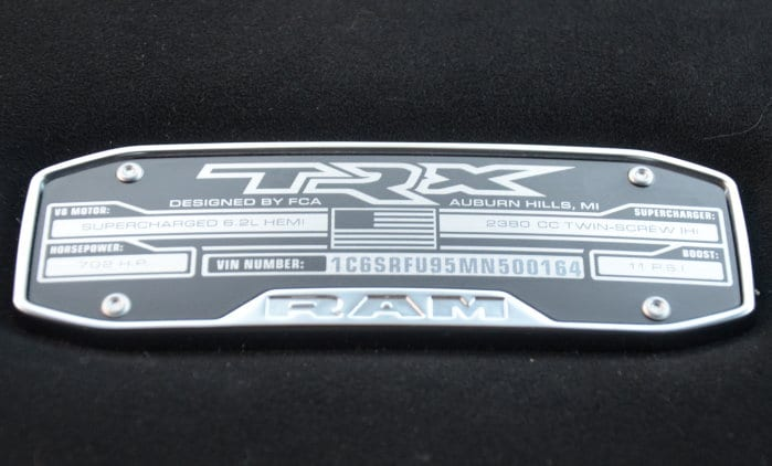 TRX Console Badge