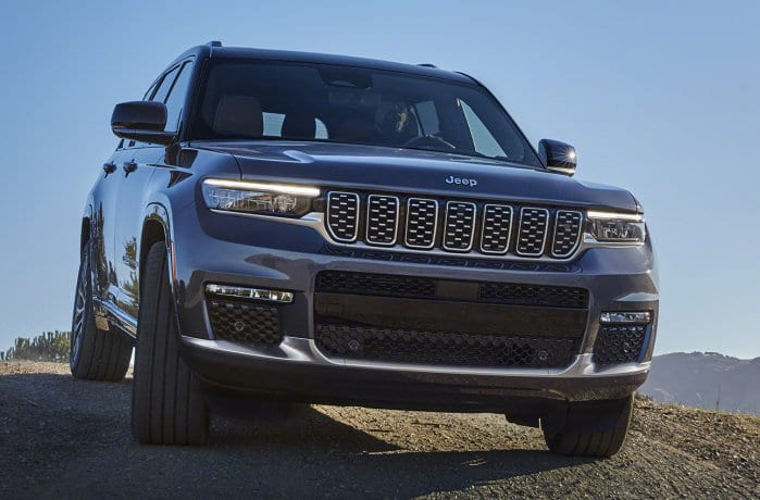 All-new 2021 Jeep Grand Cherokee L Summit Reserve
