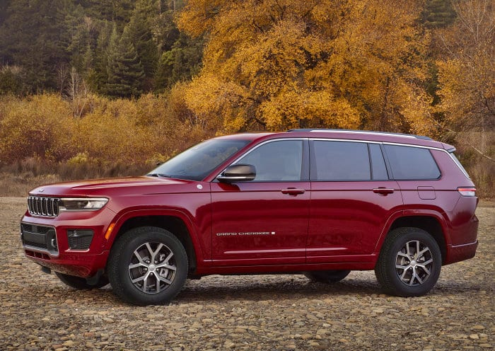 All-new 2021 Jeep Grand Cherokee L Overland