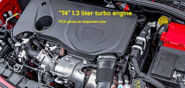 T4 firefly GSE 1.3 turbo engine