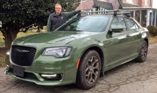 Chrysler crusader likely to win his battle