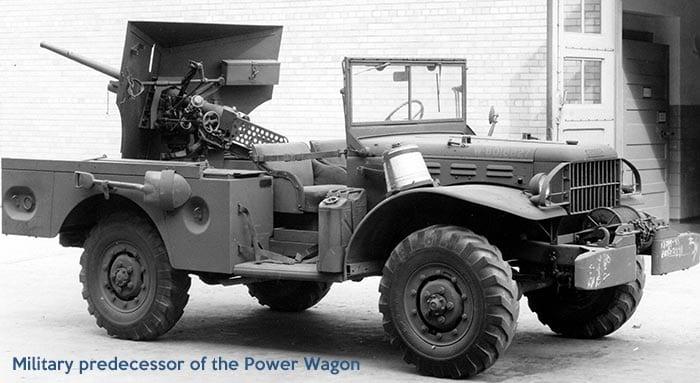 Dodge military truck