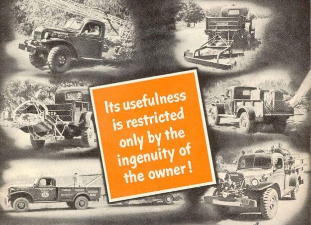 Power Wagon uses