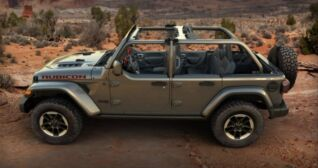 Jeep Wrangler Now Available with a Factory Half Door Package