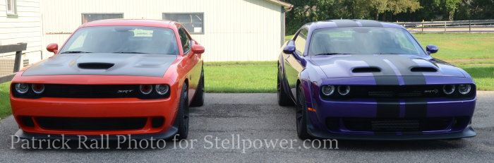 Challenger Hellcat and Redeye