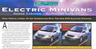 Chrysler's electric minivans—of the 1990s