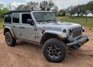 Wrangler Rubicon 4xe First Drive: All-Electric Meets Trail Rated