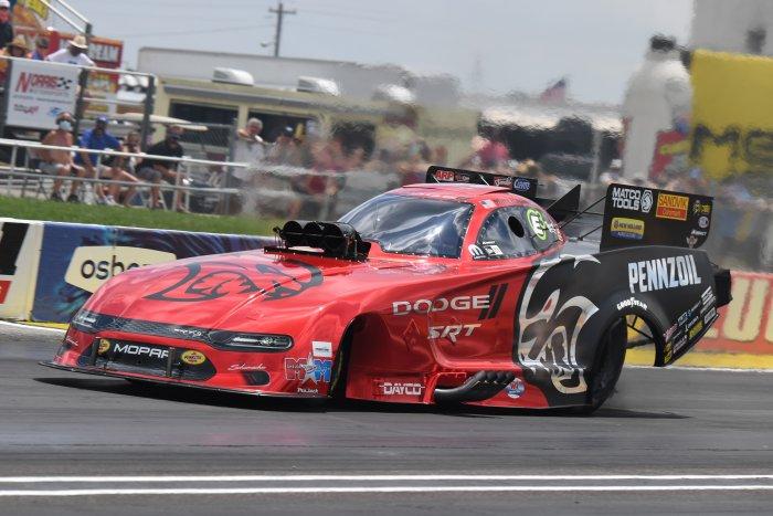 Matt Hagan 2021 Dodge Charger SRT Hellcat Funny Car