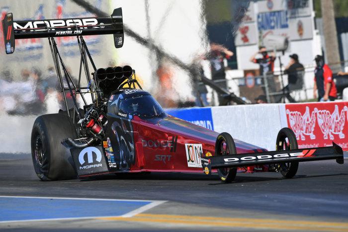 Leah Pruett Top Fuel Car