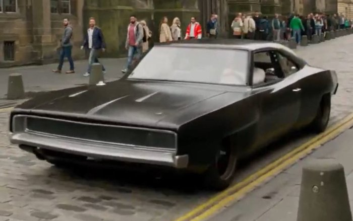 Fast 9 Dodge Charger mid-engine