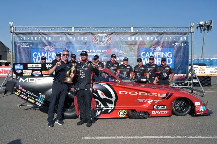 Matt Hagan Dodge Charger Funny Car Team
