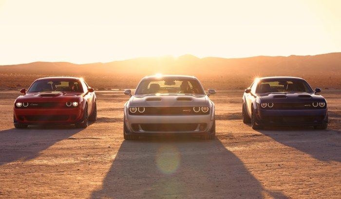 Dodge Challenger Lineup
