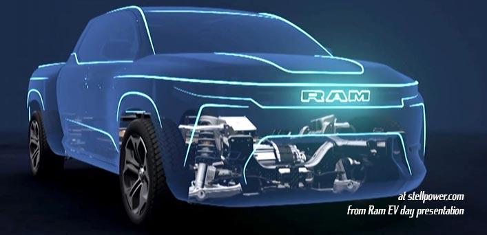 Ram BEV cutaway