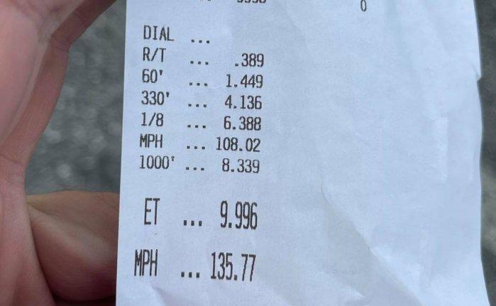 Dodge Durango Hellcat Runs a 9.996