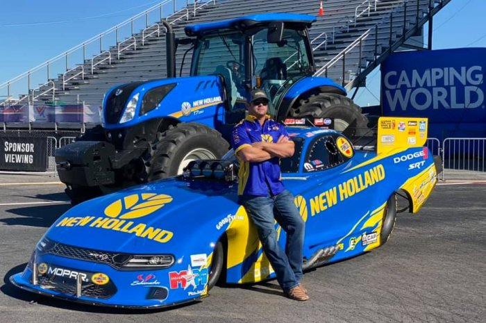 New Holland Dodge Charger
