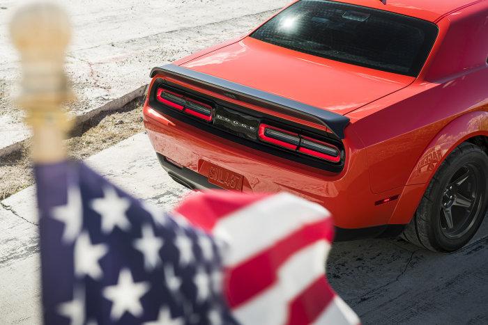 2022 Dodge Challenger SRT Super Stock: