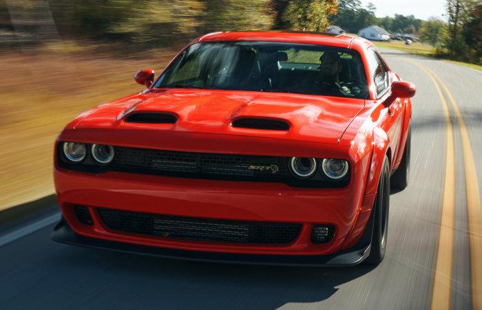 2022 Dodge Challenger SRT Super Stock