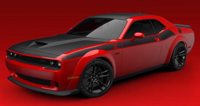 2022 Dodge Challenger T/A 392 Widebody