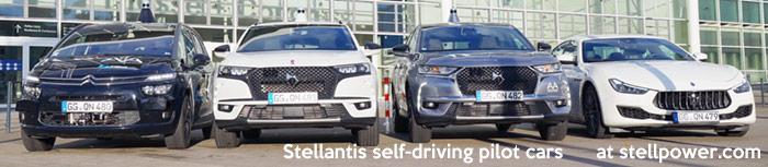 Stellantis self-driving cars (autonomous)