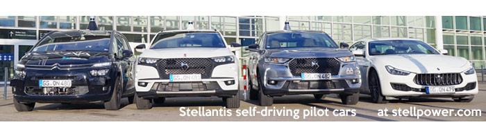 stellantis level 3 autonomous self-driving cars